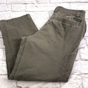 Columbia Men's Olive Green Pants Size 34